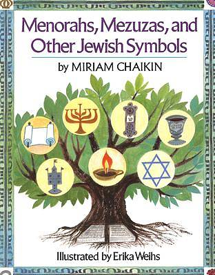 Picture of Menorahs, Mezuzas, and Other Jewish Symbols