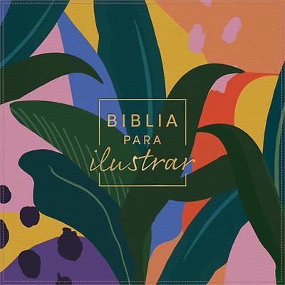 Picture of Rvr 1960 Biblia Para Ilustrar, Floral Símil Piel