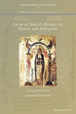 Picture of Jacob of Sarug's Homily on Edessa and Jerusalem