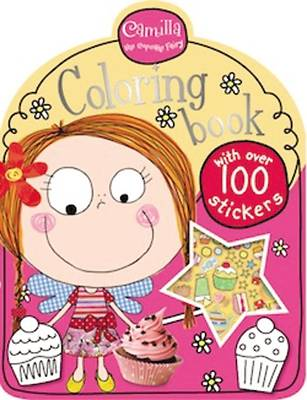Camilla the Cupcake Fairy Coloring Book