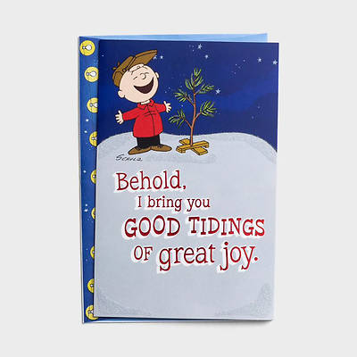 Picture of Peanuts Good Tidings of Great Joy Boxed Christmas Cards