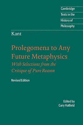 Picture of Prolegomena to Any Future Metaphysics