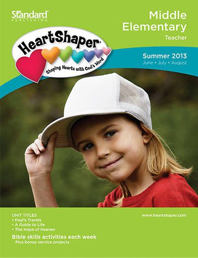 Standards HeartShaper Middle Elementary Teacher Book Summer 2013