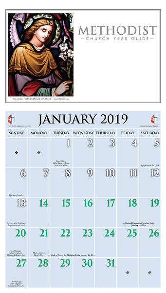 Ashby United Methodist Calendar 2019
