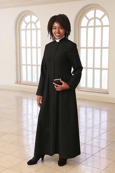 Picture of WomenSpirit Martha Custom Black Robe