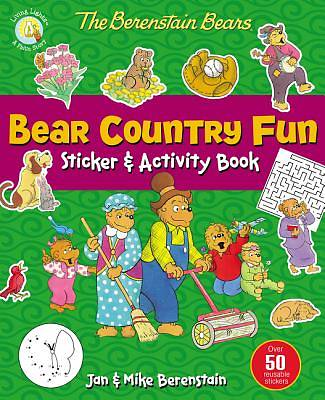 Picture of The Berenstain Bears Bear Country Fun Sticker and Activity Book