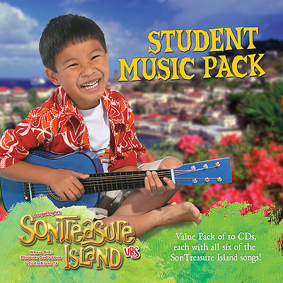 Gospel Light VBS 2014 SonTreasure Island Student Music Pack CD 10 pack