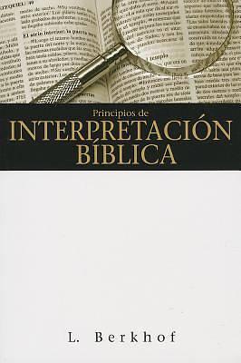 Picture of Principios de Interpretacion Biblica = Principles of Biblical Interpretation