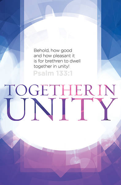 Together in Unity Heritage Regular Size Bulletin