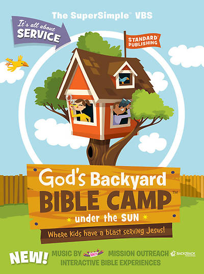 Standard Vacation Bible School 2013 God's Backyard Bible Camp Under the Sun Starter Kit
