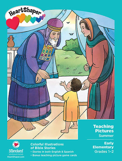 HeartShaper Early Elementary Teaching Pictures Summer
