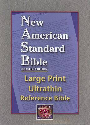 New American Standard Bible Large Print Ultrthin Reference Bible