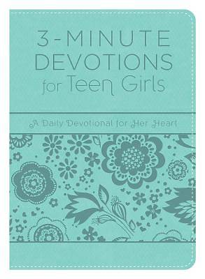 Picture of 3-Minute Devotions for Teen Girls