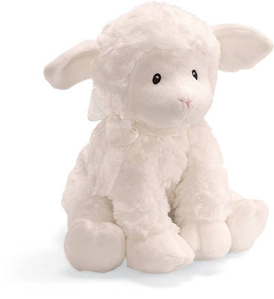 Lena Lamb Musical Stuffed Animal - Brahms Lullaby