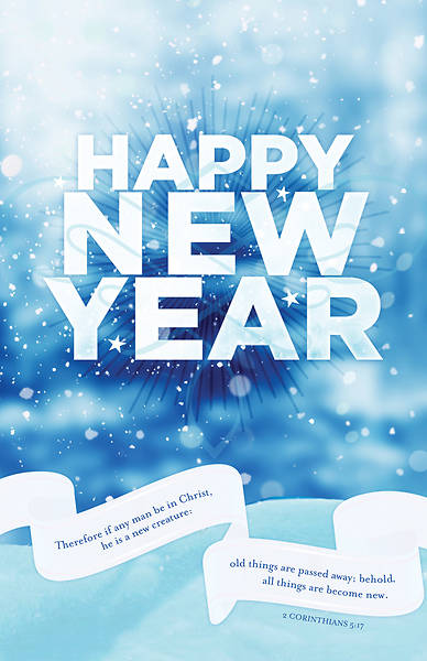 Happy New Year General Regular Size Bulletin