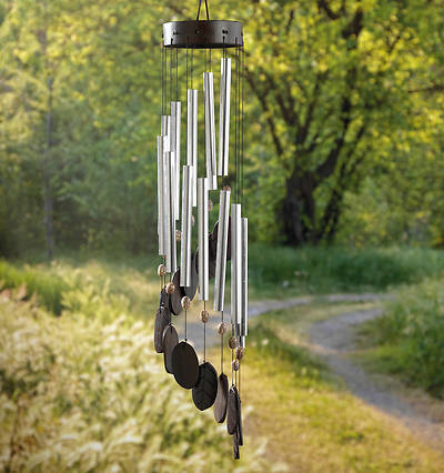 Picture of Kawayan Spiral Dreamcatcher Wind Chime