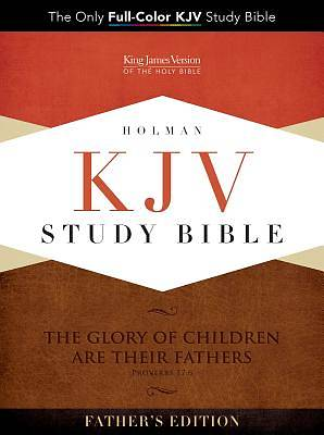 Picture of KJV Study Bible - Father's Edition Leathertouch
