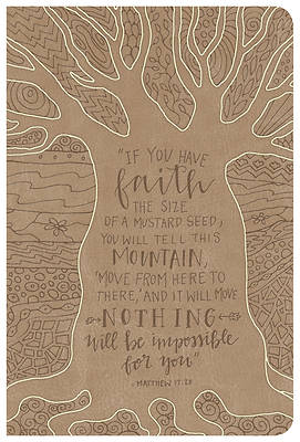 Picture of NKJV Large Print Personal Size Reference Bible, Natural Faith