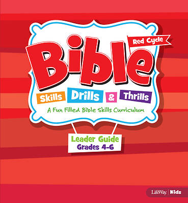 Picture of Bible Skills, Drills, and Thrills Red Cycle Grades 4-6 Leader Kit