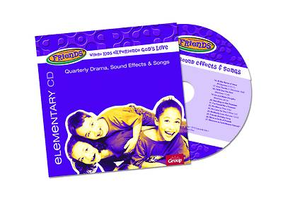 Picture of FaithWeaver Friends Elementary Drama, Sound Effects & Songs CD Spring 2021