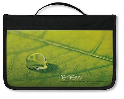 Inspiration Renew Canvas Large Black Book & Bible Cover