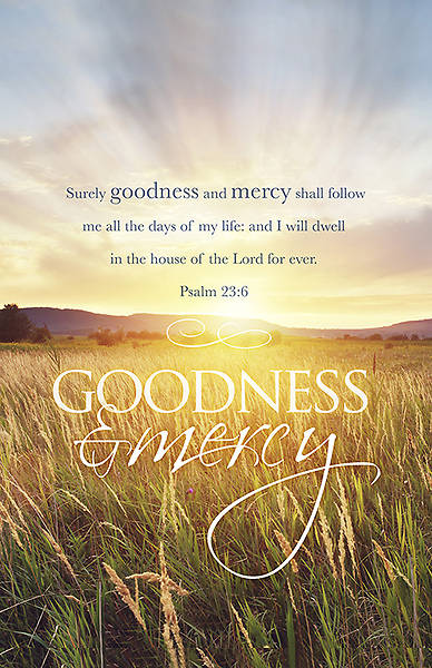 Goodness and Mercy Funeral Bulletin