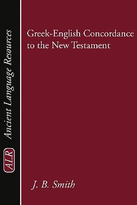 Picture of Greek-English Concordance to the New Testament