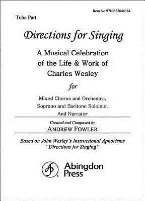 Directions for Singing - Tuba