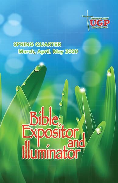 Picture of Union Gospel Bible Expositor Spring 2020