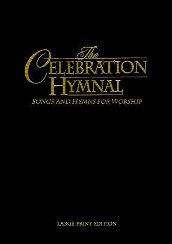 Celebration Hymnal Large Print Standard Edition Black