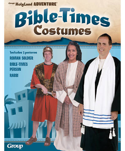 Vacation Bible School (VBS) 2017 Rome Bible-Times Costumes Pattern Pack (set of 3)