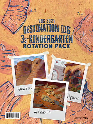 Picture of Vacation Bible School VBS 2021 Destination Dig Unearthing the Truth About Jesus 3s-Kindergarten Rotation Pack