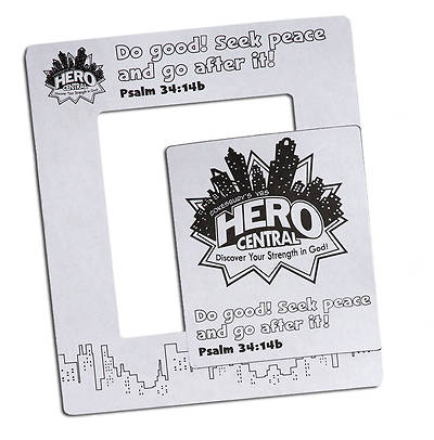 Vacation Bible School VBS Hero Central Hero Magnetic Frame (Pkg of 12)