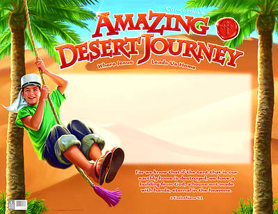 Concordia Vacation Bible School 2012 Amazing Desert Journey Publicity Poster