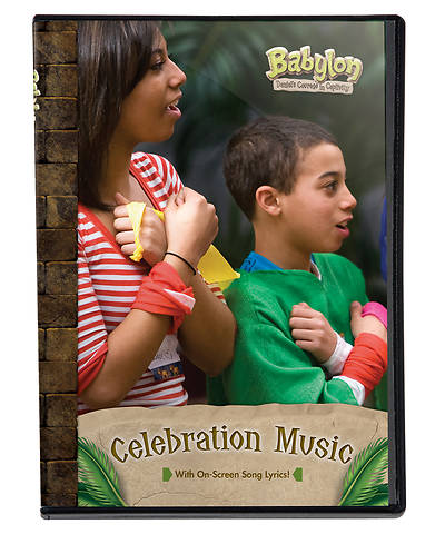 Vacation Bible School (VBS) 2018 Babylon Celebration Music DVD