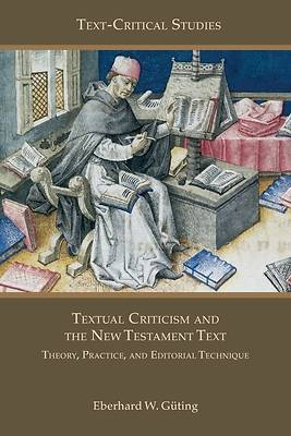 Picture of Textual Criticism and the New Testament Text