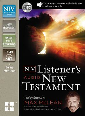 Listeners Audio New Testament-NIV
