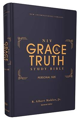 Picture of Niv, the Grace and Truth Study Bible, Personal Size, Hardcover, Red Letter, Comfort Print