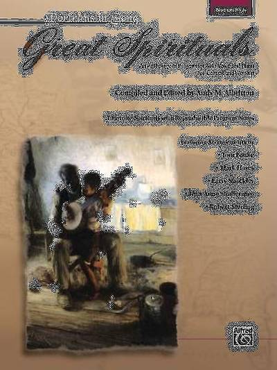 Great Spirituals; An Anthology or Program for Solo Voice and Piano for Concert and Worship