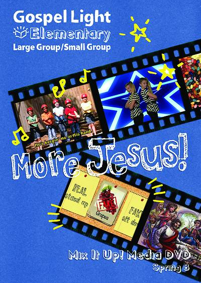 Gospel Light Elementary Mix it Up DVD Spring