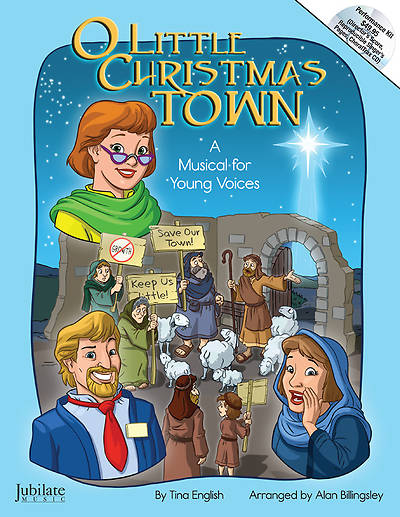 O Little Christmas Town Unison Book/CD Pack
