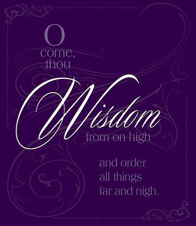 Wisdom Advent Hymn Advent Bulletin, Large (Pkg of 50)