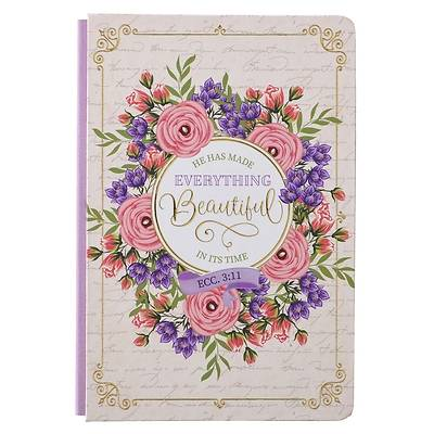 Journal Linen Bound Hardcover He Has Made Everything Beautiful