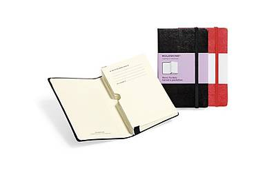 Moleskine Memo Pockets, Large, Hard Red
