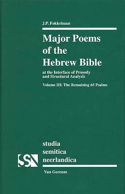 Picture of Major Poems of the Hebrew Bible at the Interface of Prosody and Structural Analysis