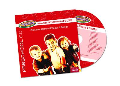 Picture of FaithWeaver Friends Preschool Sound Effects & Songs CD Spring 2021