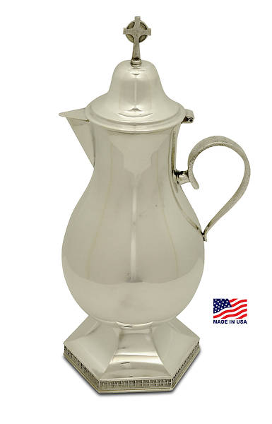 CREATORS  STAR SILVERPLATE FLAGON