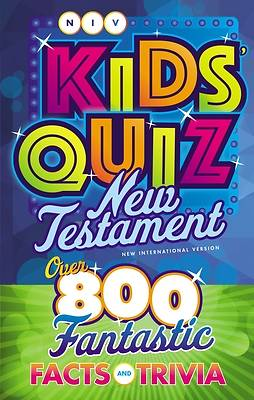 Picture of Niv, Kids' Quiz New Testament, Paperback, Comfort Print
