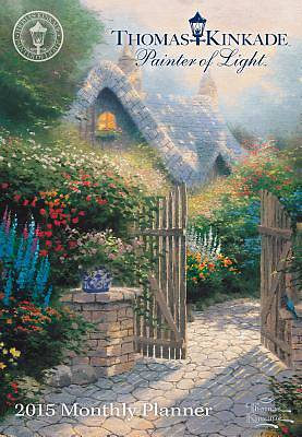 Picture of Thomas Kinkade Painter of Light 2015 Monthly Pocket Planner Calendar