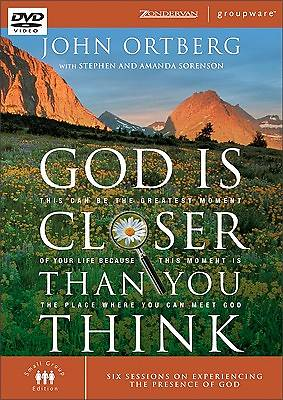 God Is Closer Than You Think DVD